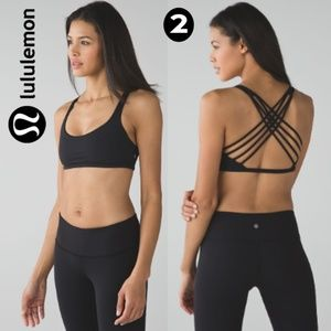 Lululemon Free To Be Bra (Wild) Black